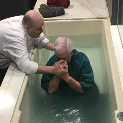water baptism immersion
